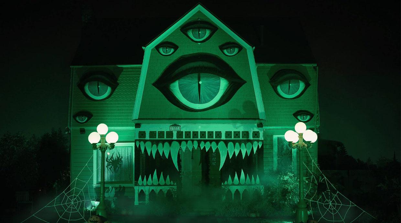 [Foto] Espántate con la casa embrujada más aterradora este Halloween