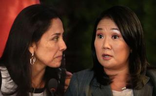 Nadine Heredia posiciona a Keiko Fujimori, por Giulio Valz-Gen