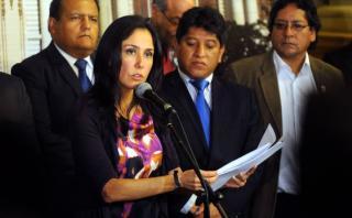 Nadine Heredia: Fiscalización pide peritos para caso de agendas