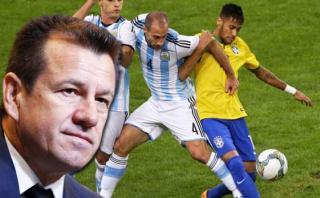 """Dunga: """"Cuando vamos a Argentina siempre es una guerra"""""""