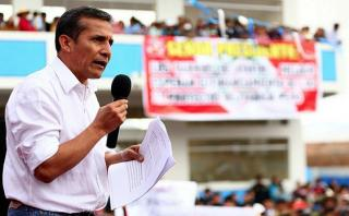 """Ollanta Humala: """"La justicia atolondrada no es justicia"""""""