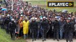 Eslovenia registra récord de ingreso de refugiados [VIDEO] - Noticias de comision por flujo