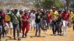 Sudáfrica: Universitarios marchan contra precios de matrículas - Noticias de jacob zuma