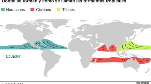 (Foto: NOAA/BBC)