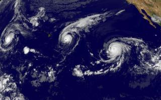 Las diferencias entre un huracán, un tifón y un ciclón