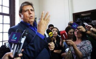 Alan García es el candidato oficial del Partido Aprista