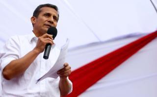 Humala: Los de arriba no me quisieron, tenían otros candidatos