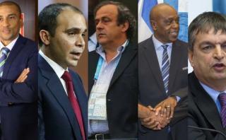 FIFA: cinco candidatos a la presidencia, ningún favorito