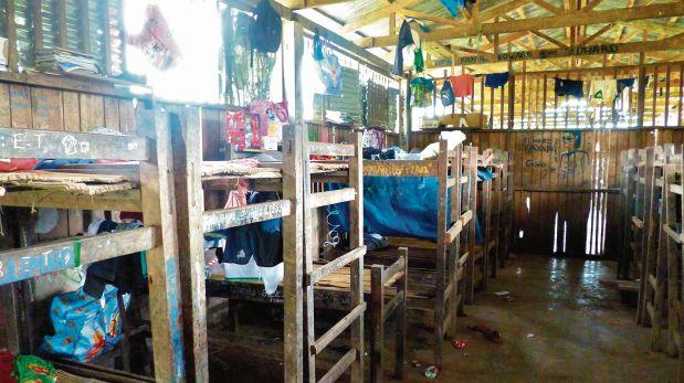 Albergues para escolares en la amazonía están en total abandono
