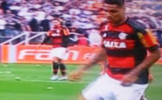Flamengo: Paolo Guerrero fue pifiado por hinchas de Corinthians