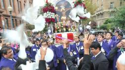 EE.UU.: Señor de los Milagros recorrió calles de Washington