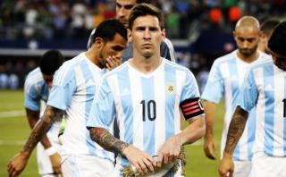 Lionel Messi no jugará ante Brasil y Colombia en Eliminatorias