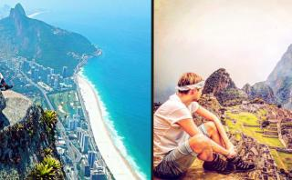 Compró un pasaje por error a Sudamérica y vivió su mejor viaje