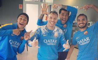 Neymar celebró cumpleaños de Adriano con emotivo mensaje
