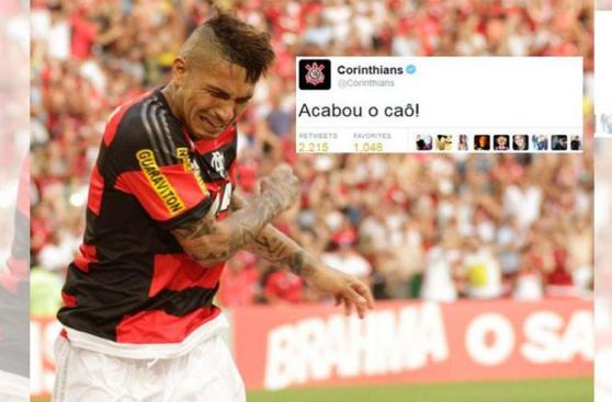 Paolo Guerrero generó estos memes tras derrota ante Corinthians