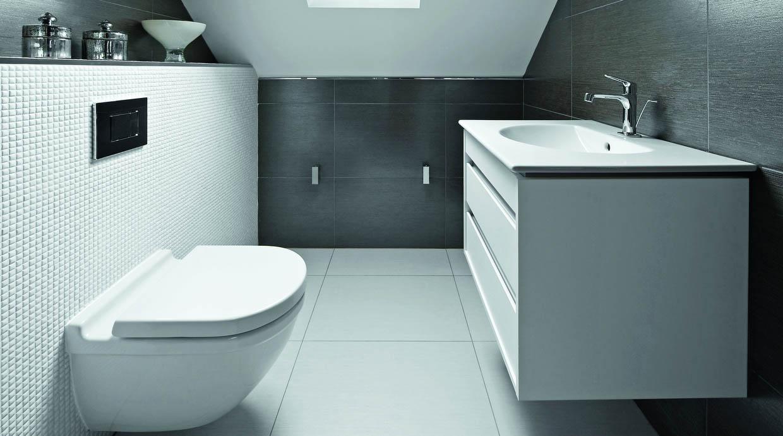 Baño Visitas Medidas:Aprovecha cada rincón de un baño pequeño