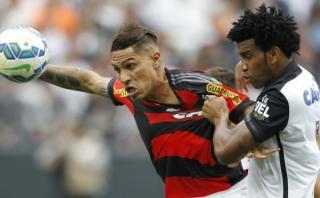 Paolo Guerrero protagonista en récord negativo de Flamengo