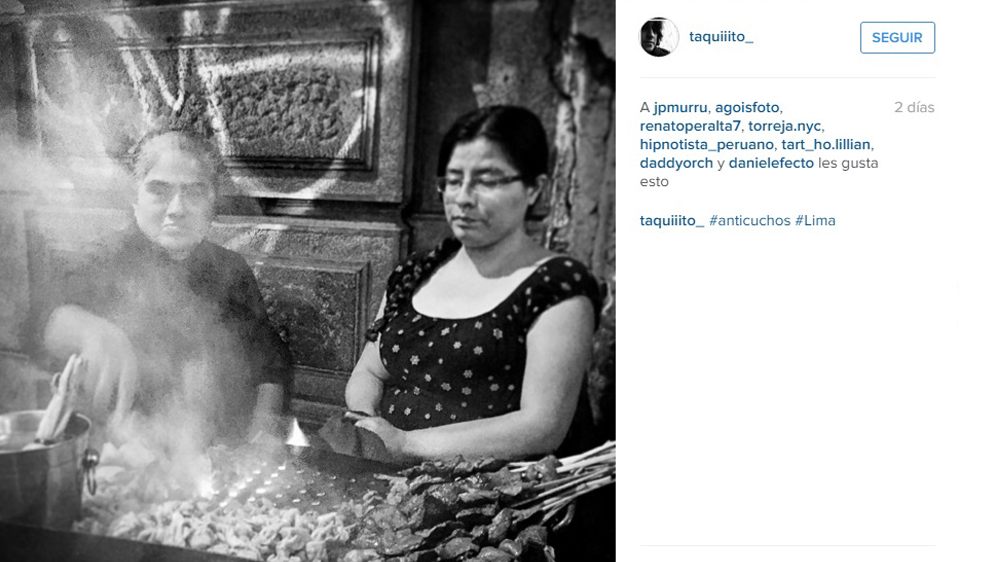 Instagram: Las mejores postales de un rico anticucho