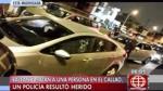 Callao: asesinan a sujeto y hieren a policía que viaja con él - Noticias de accidente muerto