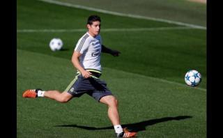 James Rodríguez recuperado podría reaparecer este fin de semana