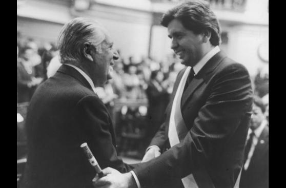 Alan García y el repaso de su carrera política en imágenes