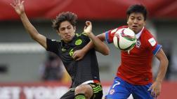 Chile eliminado y goleado en su Mundial Sub 17 por México