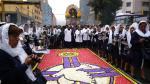Procesión del Señor de los Milagros: cuarto recorrido en fotos - Noticias de cristo moreno