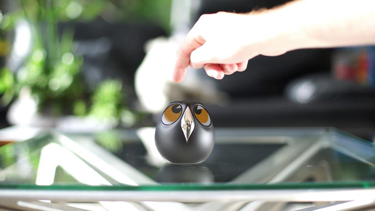 Ulo es una cámara de vigilancia con forma de búho que se puede controlar desde tu celular. (Foto: vivien-muller.fr)