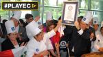 Peruanos baten récord Guinness con ensalada de quinua [VIDEO] - Noticias de ignacio bustamante