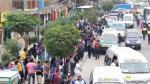 Paro de transportistas afectó a miles esta mañana [FOTOS] - Noticias de puente atocongo