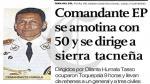 A 15 años del levantamiento de Locumba - Noticias de efemerides