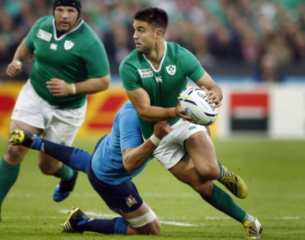 Conor Murray es el medio scrum de Irlanda. (Reuters)