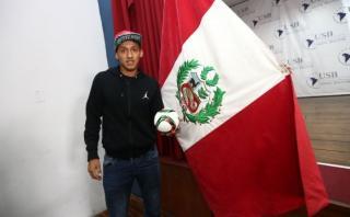 """Christofer Gonzales: """"Espero marcar con la selección peruana"""""""