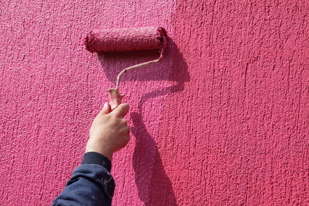 Conoce cu l es la diferencia entre cada tipo de pintura for Pintura texturada para exterior