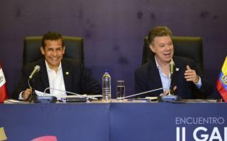 Humala y Santos abren el II Gabinete Binacional Perú-Colombia