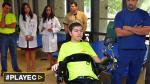 La dura lucha del joven campeón colombiano de bicicross [VIDEO] - Noticias de tetrapléjico