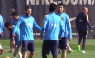 Neymar furioso: se molestó por broma de Jordi Alba y Suárez
