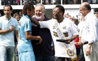 """Pelé: """"Neymar es incompleto y Messi como Maradona"""""""