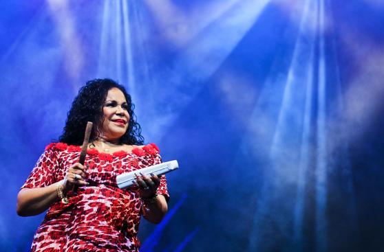 Día de la canción criolla: así fue show de Eva Ayllón [FOTOS]