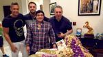 Maradona cumplió 55 años y escribió emotivo mensaje en Facebook - Noticias de diego armando maradona
