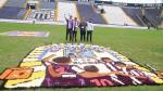 Alianza Lima: alfombras florales por el Señor de los Milagros - Noticias de cristo moreno