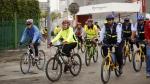 Ciclistas pedalearon hasta el Morro Solar de Chorrillos [FOTOS] - Noticias de malecon grau
