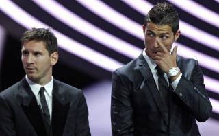 CR7 confiesa qué sentía al ver ganar a Messi los Balones de Oro