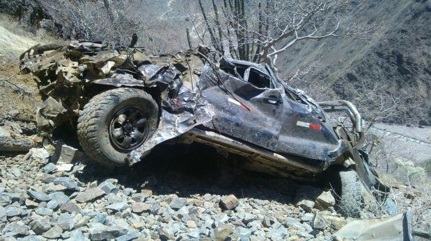 Ayacucho: despiste de vehículo deja seis personas fallecidas