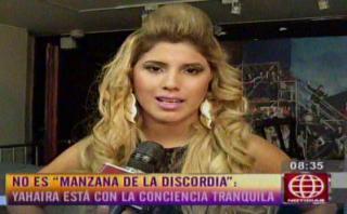 """Yahaira Plasencia: """"No destruí la familia de Jefferson Farfán"""""""