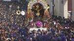 Señor de los Milagros se despidió en multitudinaria procesión - Noticias de cristo moreno