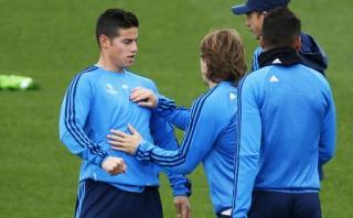 James Rodríguez reaparece en lista del Real Madrid ante PSG