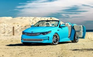 SEMA Show: Kia presentará un Optima descapotable