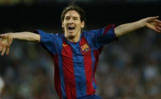 Barcelona: primer gol de Messi en Champions cumple 10 años