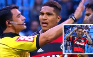 Paolo Guerrero: árbitro que lo expulsó detalló así sus gestos